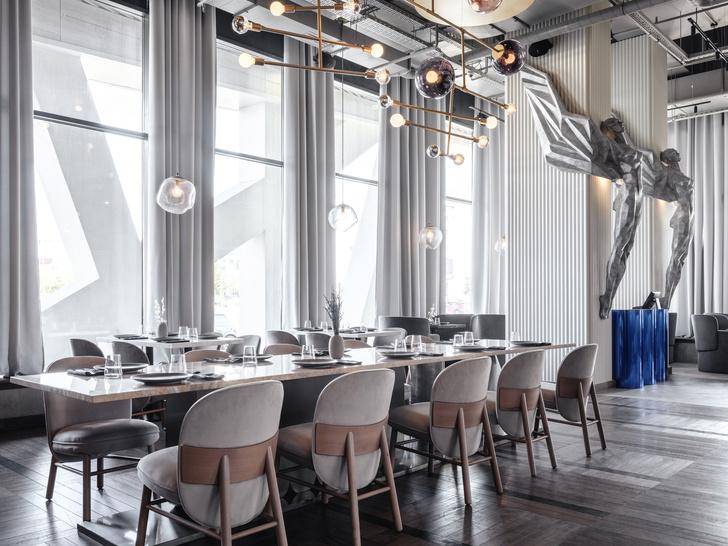Ресторан «Полет» на Ходынском бульваре (фото 7)