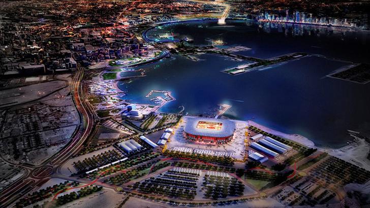 В Катаре построят футбольный стадион из грузовых контейнеров