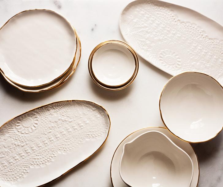 Некруглые тарелки