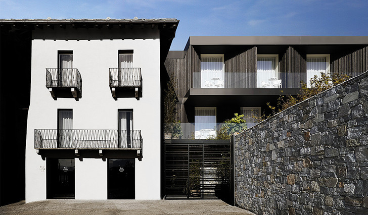 Отель на берегу озера Орта по проекту Пьеро Лиссони (фото 4)