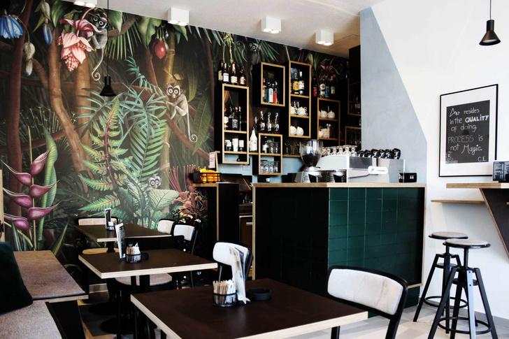 Джунгли и ч/б: модный бар в Ховатии (фото 5)