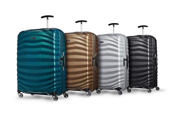 Samsonite представляет новую линейку чемоданов Lite-Shock