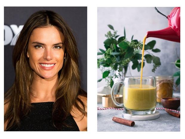 Рецепт витаминного напитка от Алессандры Амбросио (фото 1)