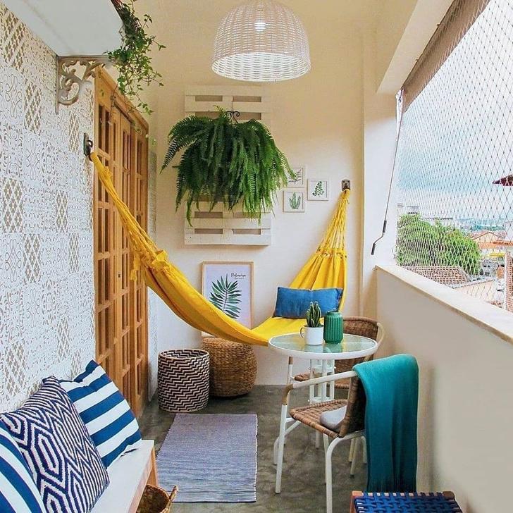 Задай вопрос эксперту: гамак на балконе (фото 1)