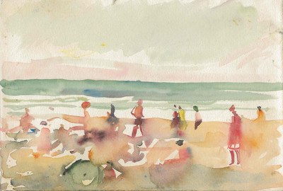 Открывается выставка этюдов художника Александра Лабаса | галерея [1] фото [2]