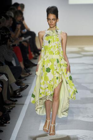 Показы мод Diane Von Furstenberg Весна-лето 2012 | Подиум на ELLE - Подиум - фото 2051