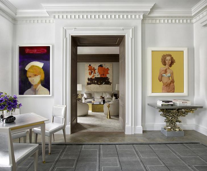 Клуб знатоков: нью-йоркская квартира с шедеврами искусства (фото 0)