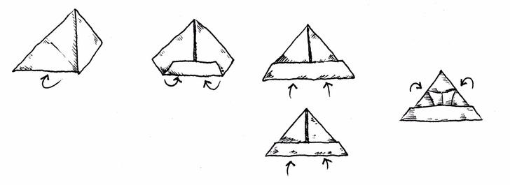 Как сложить салфетки для сервировки стола (фото 11)