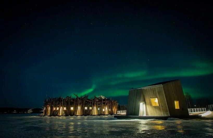 Arctic Bath: плавучий отель в Швеции (галерея 12, фото 0)