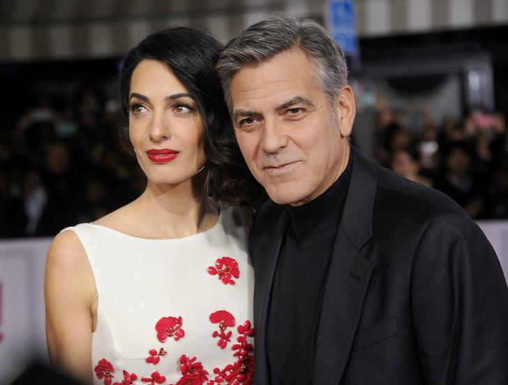 Амаль Аламмудин и Джордж Клуни