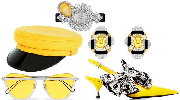 Солнце на ладони: украшения и аксессуары в желтой гамме (фото 6)