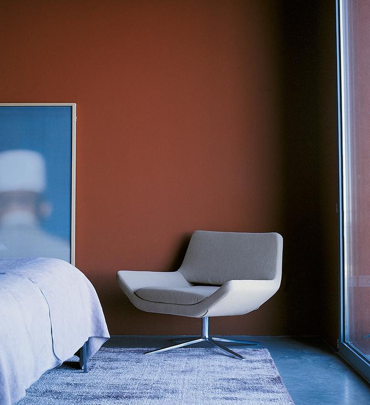 Кресло Metropolitan, дизайн Джеффри Беннета, B&B Italia, 2003 год.