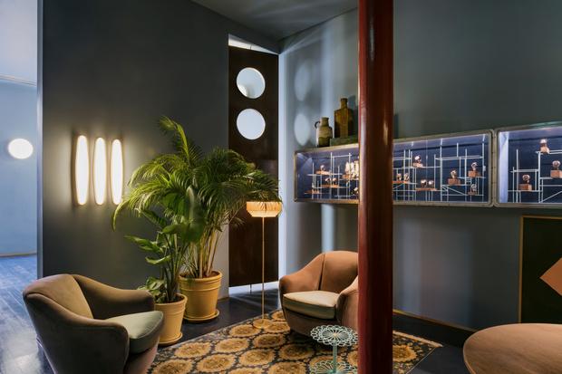 Клуб любителей винтажа: пять комнат в Лондоне от Dimore Studio (фото 0)