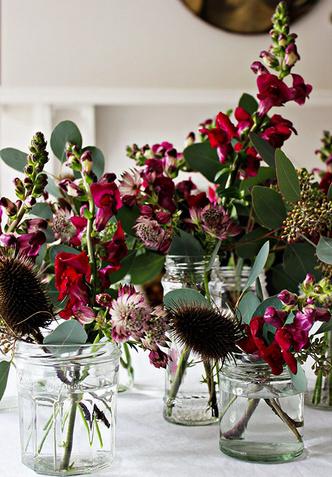 Цветочный декор на Рождество: 12 простых советов (фото 8)