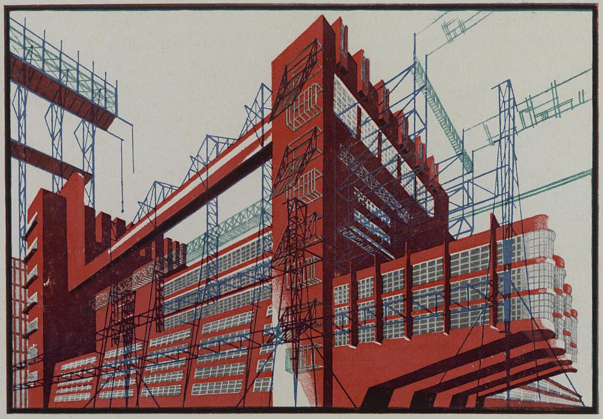 В Музее архитектуры открывается выставка «Яков Чернихов. Образы архитектуры» | галерея [1] фото [3]