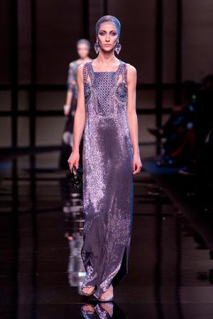 Показ Giorgio Armani Privé коллекции сезона Весна-лето 2014 года Haute couture - www.elle.ru - Подиум - фото 574940