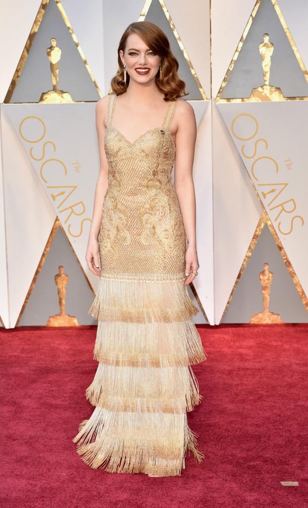 Эмма Стоун в Givenchy Couture