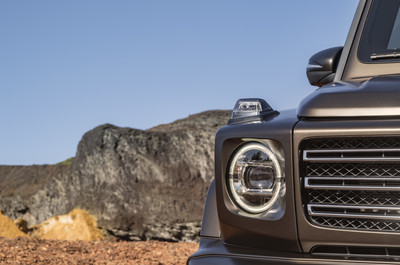 Невозможное возможно: Mercedes-Benz усовершенствовали легендарный G-Класс (галерея 6, фото 1)