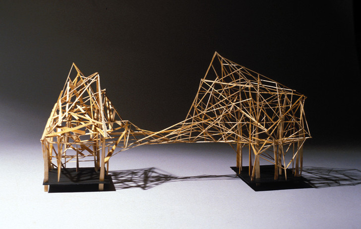 «Горизонтальная конструкция», 1990 год, Аня Венедиктова, 14 лет.