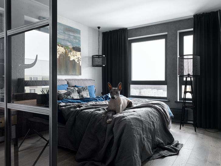 Московская квартира 83 м² в стиле лофт (фото 6)