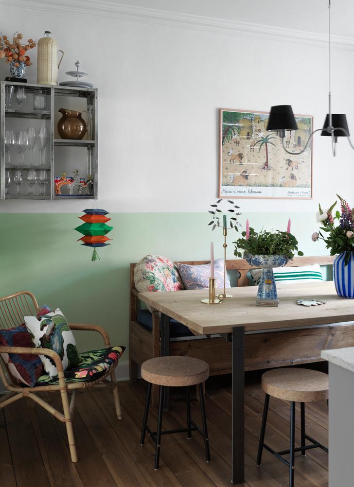 Яркая квартира для творческой пары в Копенгагене (фото 12)
