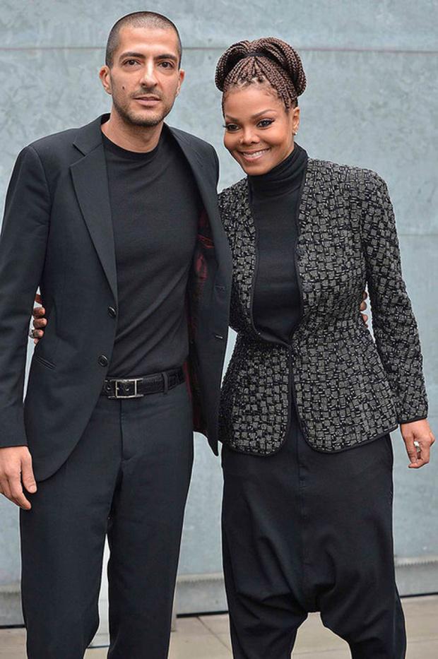Джанет Джексон с мужем