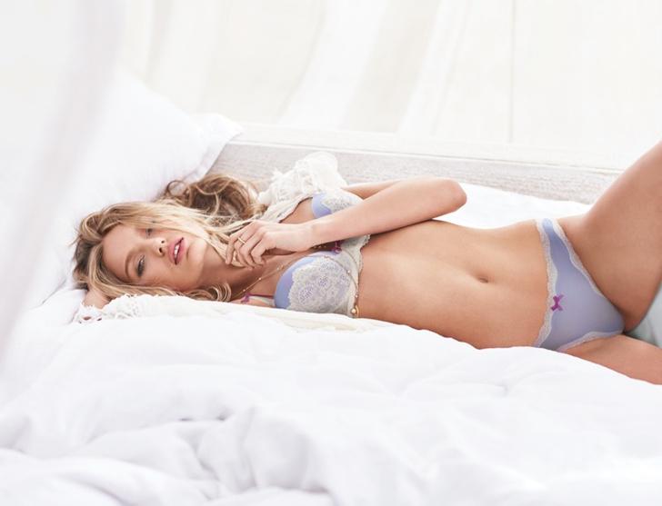 Роми Стрижд для Victoria's Secret
