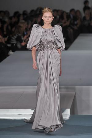 Показ Elie Saab коллекции сезона Весна-лето 2009 года Haute couture - www.elle.ru - Подиум - фото 86577