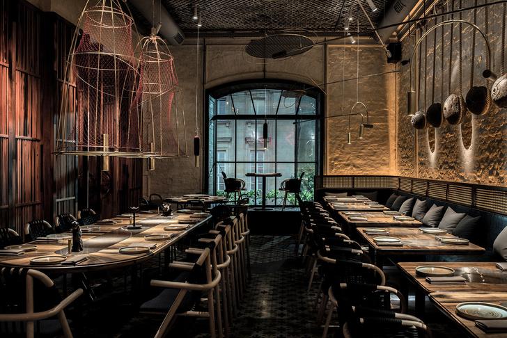 Вьетнамский ресторан в Киеве по проекту YOD Design Lab (фото 13)