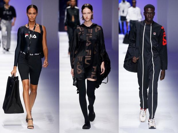Чем удивил спортивный бренд Fila на Неделе моды в Милане? (фото 3)