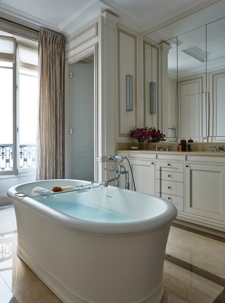 Эклектичный интерьер квартиры в Париже (фото 11)