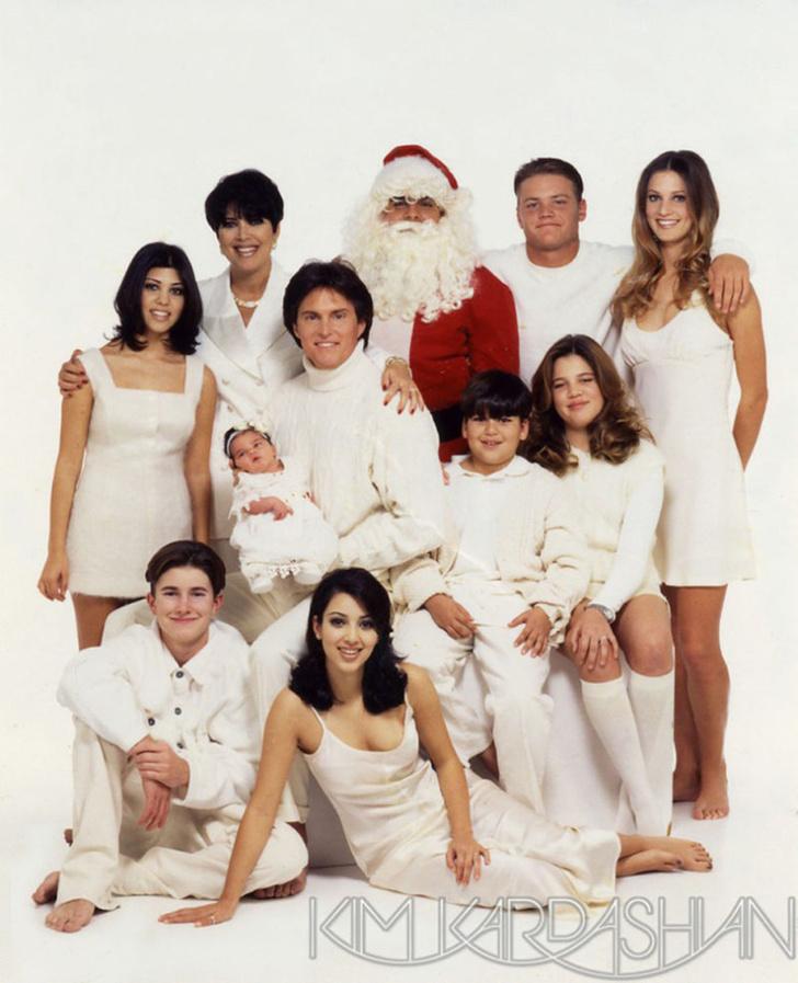 Рождественская открытка 1995 год