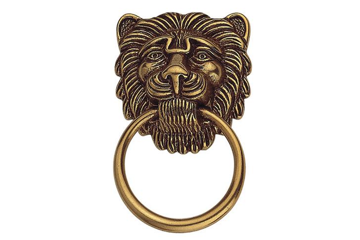Дверная ручка со львом, Fino Ferramenta