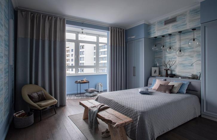 Квартира в серо-голубой гамме (фото 7)