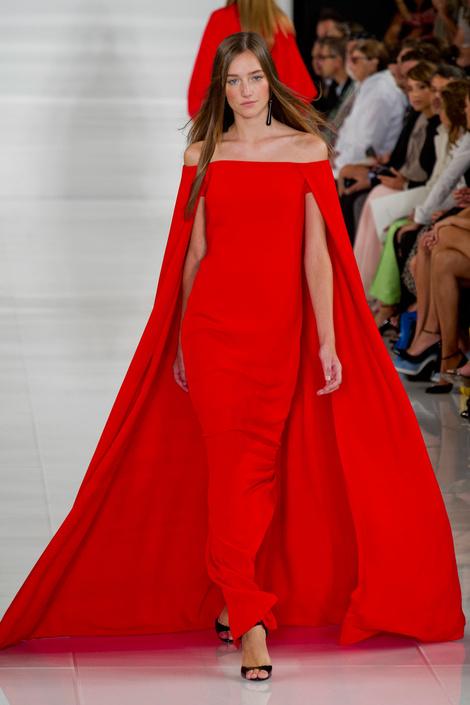 Лучшие модели с показа Ralph Lauren на Неделе моды в Нью-Йорке