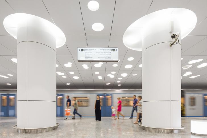 Пусть всегда будет солнце! Станция метро «Солнцево» по проекту Nefa Architects (фото 3)