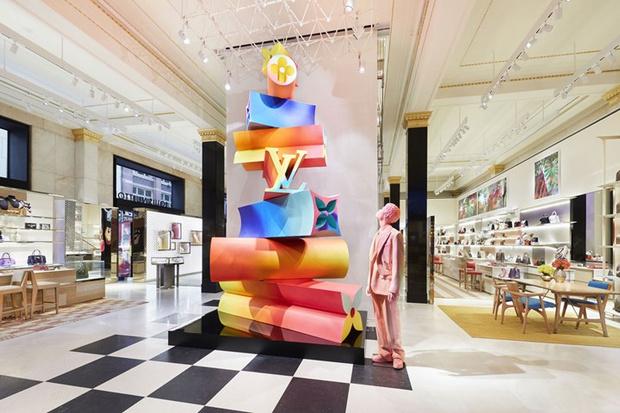 Питер Марино оформил новый флагман Louis Vuitton в Сиднее (фото 0)