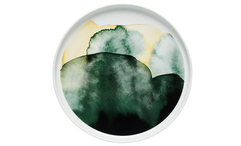 Тарелка Oiva, Marimekko, компания Vellamo, Галерея дизайна/bulthaup СПб.