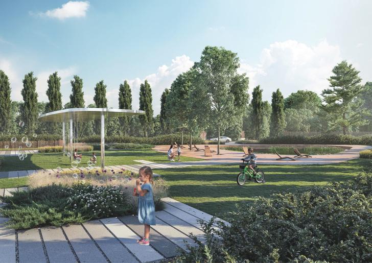 Компания Arteza разработала ландшафтную концепцию развития  общественных зон города Доброград (фото 2)