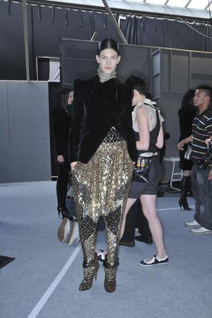 Показ Givenchy коллекции сезона Осень-зима 2009-2010 года Haute couture - www.elle.ru - Подиум - фото 87836