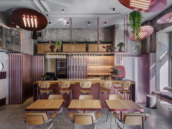 Rare Pastrami Bar по проекту Crosby Studios  в Москве (фото 0)