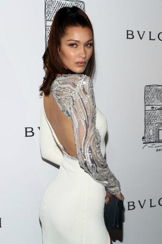 Белла Хадид на вечеринке Bulgari в Нью-Йорке фото [3]
