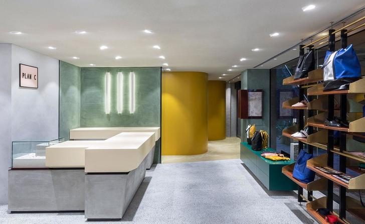 Яркий бутик одежды Plan C в Токио (фото 0)