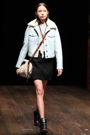 Показы мод Coach Осень-зима 2014-2015 | Подиум на ELLE - Подиум - фото 3815