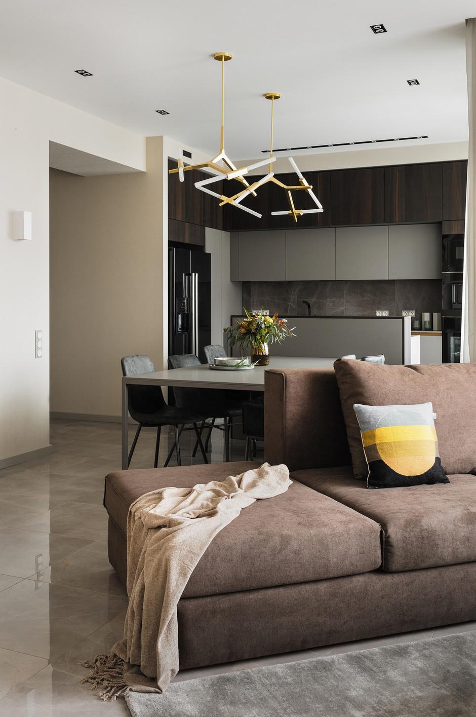 Дизайн кухни-гостиной: 25 решений (галерея 0, фото 3)