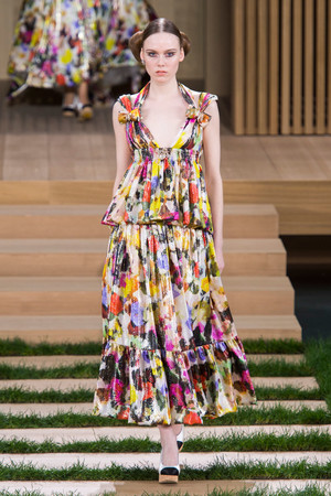 Показ Chanel коллекции сезона Весна-лето  2016 года haute couture - www.elle.ru - Подиум - фото 602757
