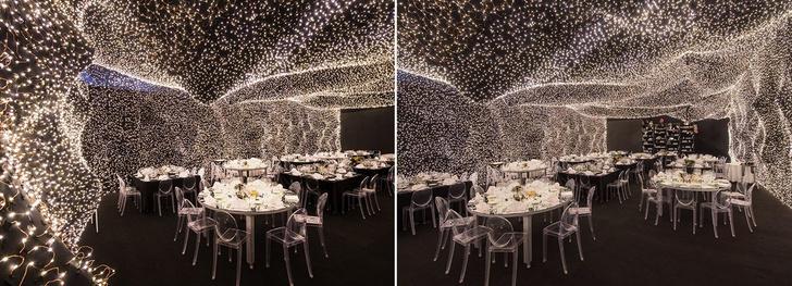 250 000 led-огней украшают ресторан Interstellar в Мехико (фото 0)