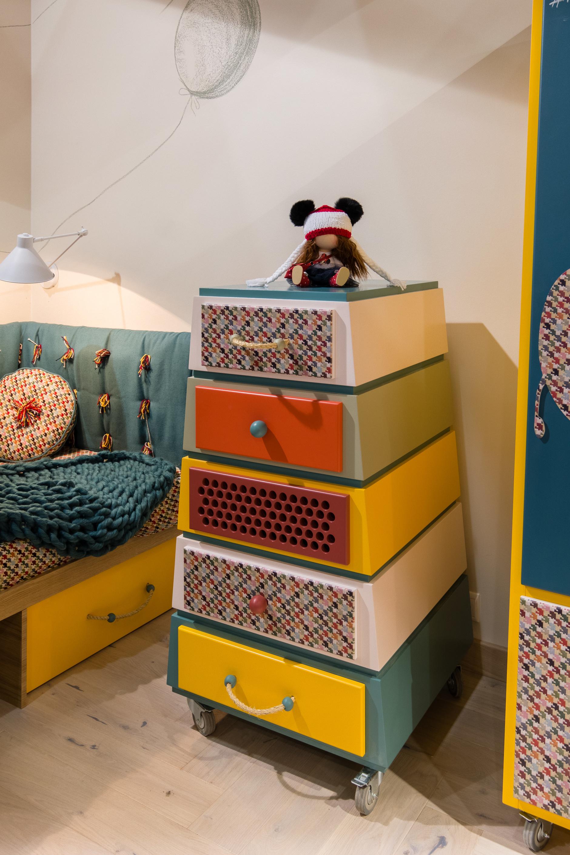 Веселые ребята: детская мебель дизайнера Натальи Гусевой (галерея 8, фото 0)
