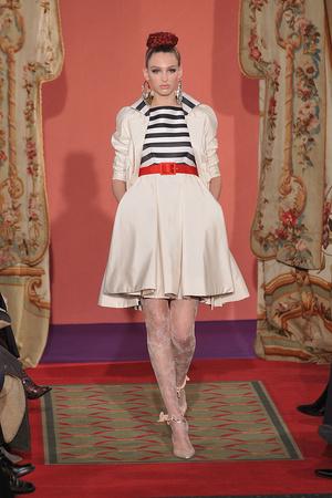 Показ Christian Lacroix коллекции сезона Весна-лето 2009 года haute couture - www.elle.ru - Подиум - фото 86456