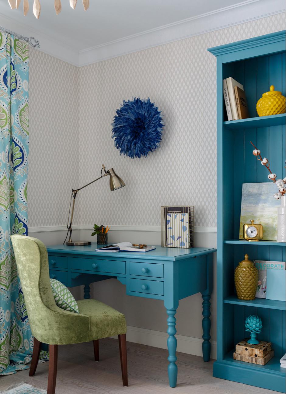 Домашние кабинеты: 30 интерьеров (галерея 0, фото 7)